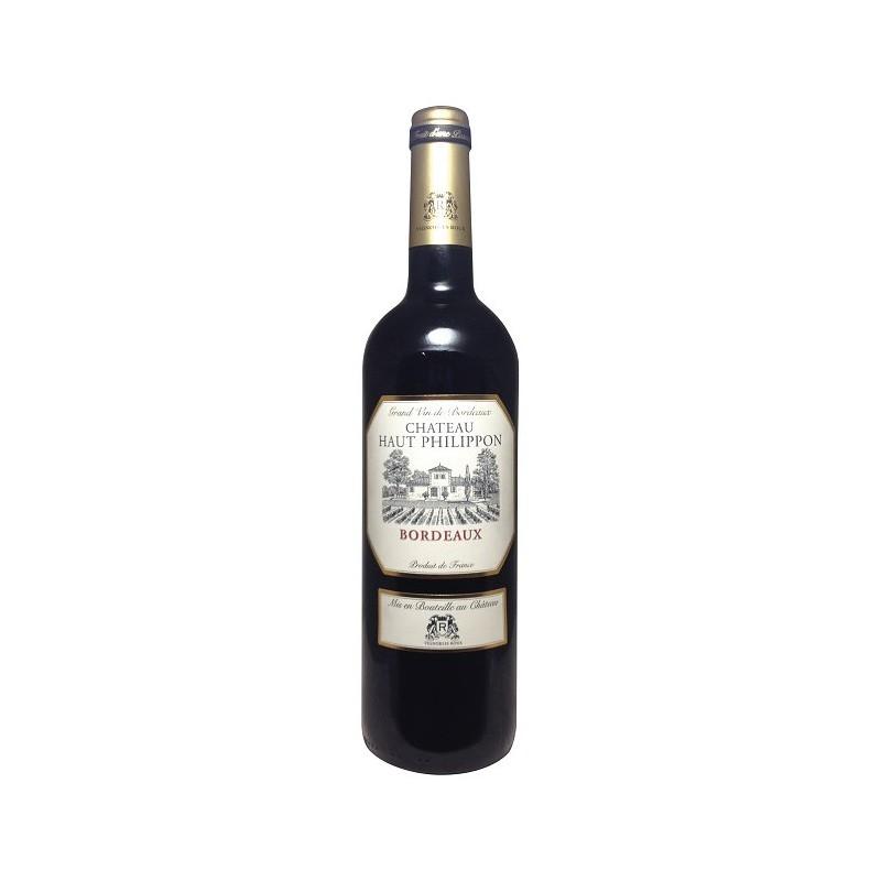 vignobles roux ch teau haut philippon aoc bordeaux rouge delibo wines. Black Bedroom Furniture Sets. Home Design Ideas